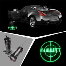 logo ford mustang ford mustang bullitt led welcome light ghost shadow projector