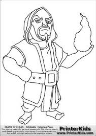 barbie printer colouring pages 7 clash clans wizard