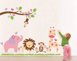 compare prices on wall stickers trees online shopping buy low diy cartoon animal wall sticker tree stickers retro vintage poster wallstickers for kids baby rooms decoration