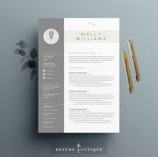 Instant Resume Template Resume Template 4 Page Cv Template Cover Letter For Ms Word