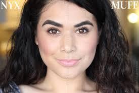 dupes make up for ever ultra hd vs nyx hd foundation u0026 concealer