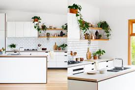 Designer White Kitchens Design White Kitchen Ideas Brown Varnished Wood Countertop