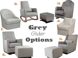 Grey Nursery Rocking Chair Grey Nursery Gliders 1 Savoy Glider Dwell Studio 2 Joya Rocker