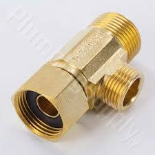 Brass Quick Tee Adapters For Ice Makers Dishwashers & More