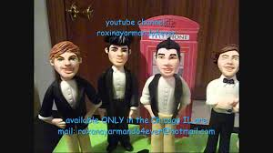 one direction cake toppers one direction cake toppers made of gum paste and pinata by roxana