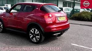 nissan juke red 2013 nissan juke n tec 1 6l force red kr63wyv for sale at toomey