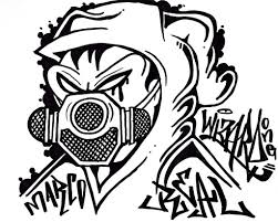 Masker Gas graffiti character gas mask graffiti character cholowiz13 flickr