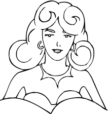 free women coloring pages