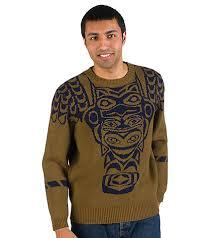 pendleton sweaters pendleton totem crew lambs wool sweater medium brown af637