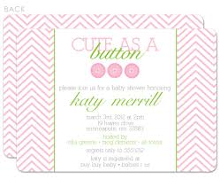cute as a button baby shower invitations theruntime com