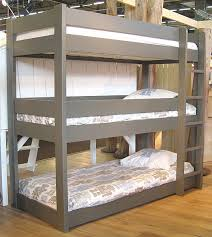 three bunk beds triple bunk bed los angeles triple bunk bed design as amazing