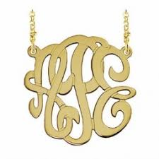 monogram jewlery monogram jewelry personalized boutique inc