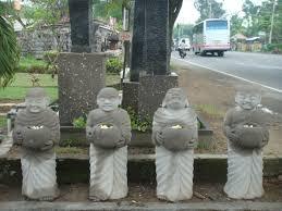 concrete garden statues set of 4 66 pottery bali
