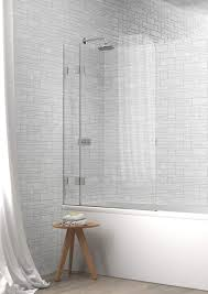 indium 14c curved top two panel hinged bath shower screen indium 14c curved top two panel hinged bath shower screen
