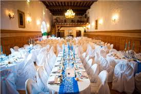 mariage bleu et blanc l effet déco bleu royal fee de l effet