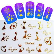 popular cat tattoo nails buy cheap cat tattoo nails lots from