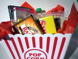 Movie Basket Ideas How To Make A Movie Night Gift Basket Eatlovedesign