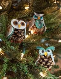 craft pinecone owls by lia griffith project felting