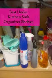Under The Kitchen Sink Storage Ideas 41 Best Best Under Kitchen Sink Organizer Shelf Images On