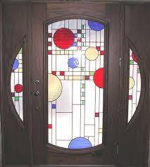 Exterior Glass Door Inserts Stained Glass Door Inserts Leandrocortese Info