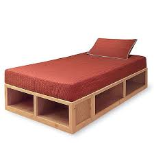 Build Twin Size Platform Bed Frame by Best 25 Twin Bed Frames Ideas On Pinterest Twin Bed Frame Wood