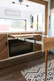 Table With Slide Out Leaves Best 25 Rv Table Ideas Ideas Only On Pinterest Camper Cushions