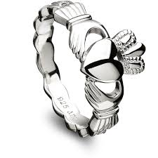 s rings claddagh ring anu3014 sterling silver made in ireland