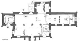All Saints Church Floor Plans by Plan Of The Church All Saints Church Kirkby Overblow
