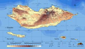 Map Of Yemen Friends Of Soqotra