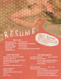 Resume Examples Graphic Designer by 39 Fantastically Creative Resume And Cv Examples