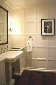 bathroom walls ideas a blur of white batten board and detail