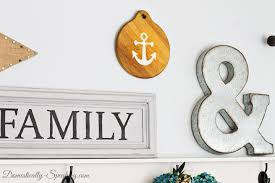 thrift store diy anchor home decor domestically speaking