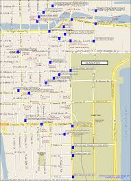 Chicago Zip Codes Map by Downtown Hotels Map