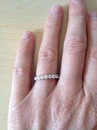 eternity ring finger advice on half eternity ring