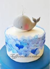 whale themed baby shower this weekends order whale themed babyshower cake cake co flickr