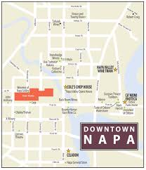 California Wine Country Map Downtown Napa Wine Country This Week Magazine Wineries Wine