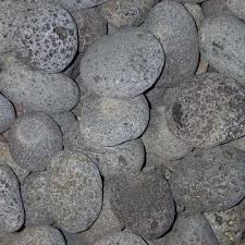 Black Garden Rocks Small 3 Lava Rock Landscape Rocks Hardscapes The Home Depot