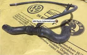 vw golf mk3 2 0 abf coolant hose genuine new oem vw part