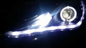 2011 hyundai sonata headlight bulb 2011 2013 hyundai sonata led halo bi xenon hid lights