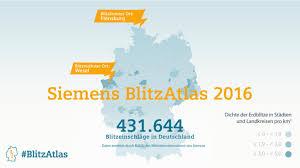 Baden Blitz Blitz Atlas Wo Hat Es In Deutschland 2016 Am Meisten Gekracht