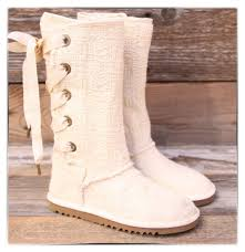 ugg s anais shoes chestnut ugg australia heirloom lace up weave white boots us