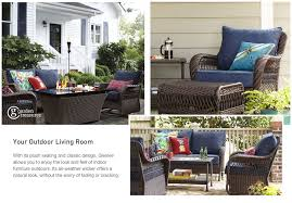 Roth Allen Patio Furniture by Shop The Glenlee Patio Collection On Lowes Com