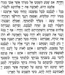 the shema in the original hebrew chabad org