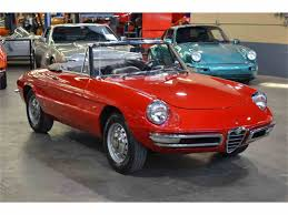 alfa romeo classic for sale 1967 alfa romeo duetto 1600 spider for sale classiccars com cc