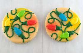 glowing christmas lights cookies semi sweet designs