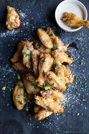Fried Parmesan Crispy Baked Garlic Parmesan Chicken Wings Easy Healthy Recipes
