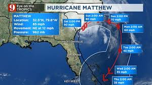 Key West On Map National Hurricane Center Hurricane Matthew Makes Landfall In