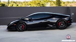 Lamborghini Huracan With Spoiler - black bull lamborghini huracan x hre p200 u0027s vorsteiner akra