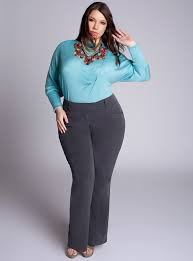 Plus Size Women S Clothing Websites Home Shop Pants Trina Plus Size Pants In Charcoal Fashionista