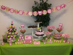 Baby Shower Candy Buffet Pictures by My Owl Theme Babyshower Candy Buffet Table Party Ideas